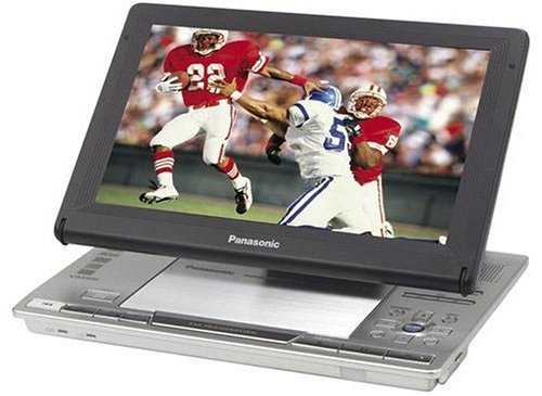 Remanufactured Panasonic DVD LX8 9 Inch Portable