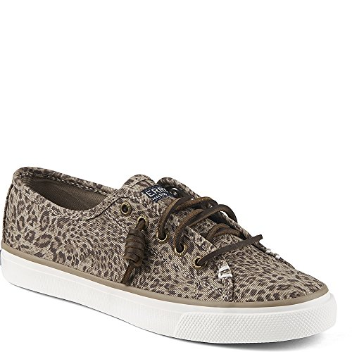 Sperry Damen Seacoast Core Fashion Sneaker Taupe