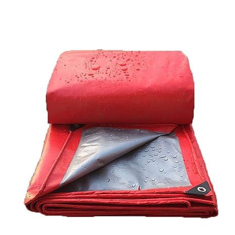 GLP Paño de lluvia engrosado Paño de publicidad Paño impermeable Lona protectora Pantalla roja Lona Cobertizo