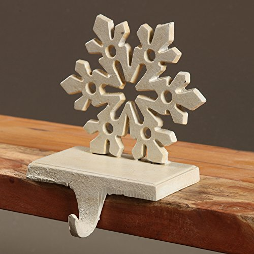 Snowflake Stocking Holder - Cast Iron by My Swanky Home (Image #2)