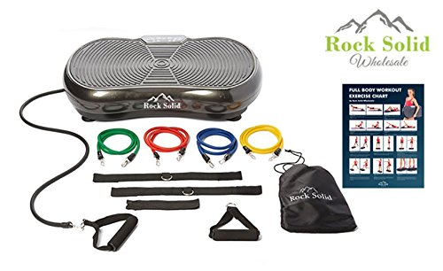 Rock Solid Whole Body Vibration Machine With 2 Year Warranty-500 Watt Motor