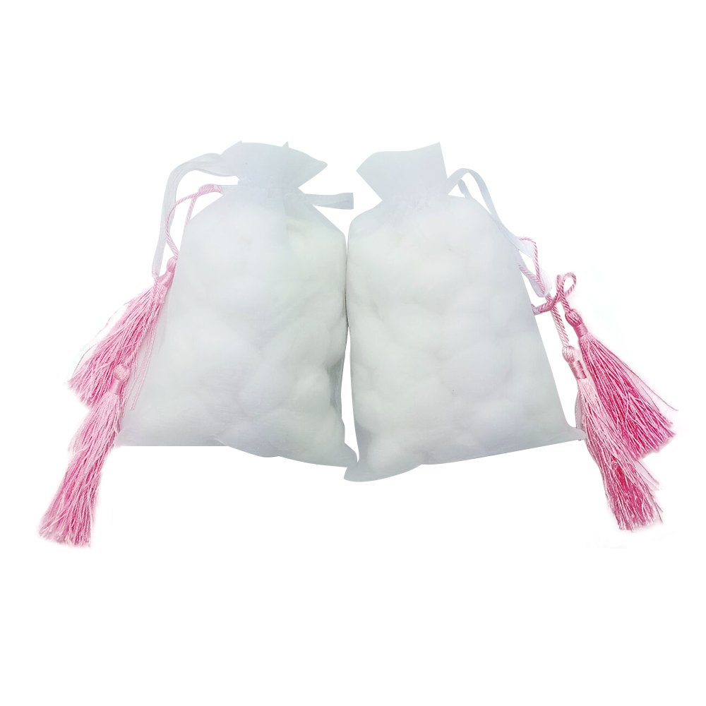 100% natural organic sterile, super-soft, superabsorbent, super-elastic, without added, natural cotton (2-piece)