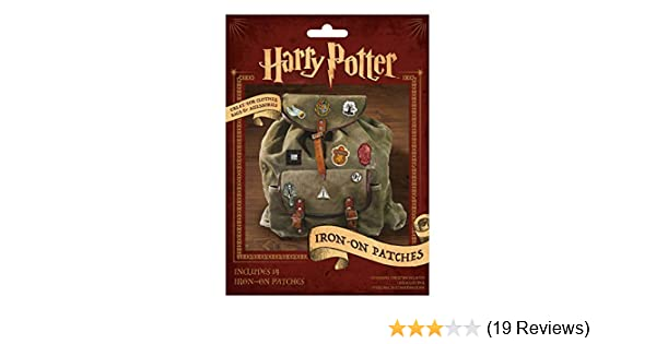 Harry Potter IRON ON TRANSFERS 14 DIFFERENT PATCHES