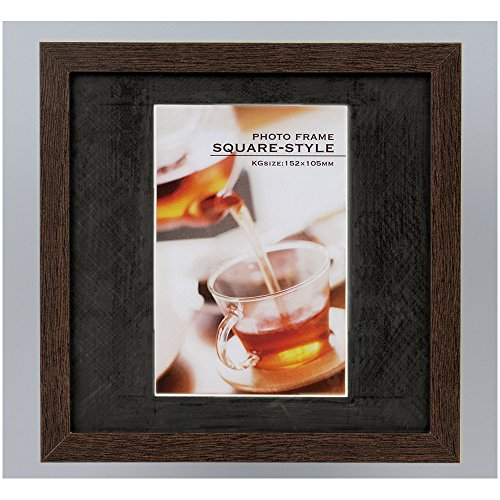 Nakabayashi Co., Ltd. wooden square photo frame KG-format full -TQW-201-BR