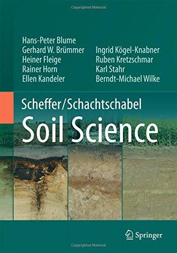 Scheffer/SchachtschabelSoil Science by Hans-Peter Blume (2015-12-12)
