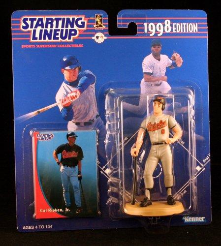 Orioles Lineup Baltimore - CAL RIPKEN JR. / BALTIMORE ORIOLES 1998 MLB Starting Lineup Action Figure & Exclusive Collector Trading Card