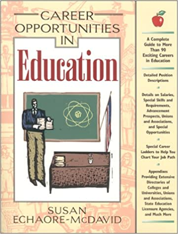 Career Opportunities in Education