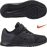 NIKE Kids Downshifter 8 PS Black Black Anthracite Size 12