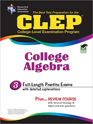 Amazon clep college algebra clep test preparation ebook clep college algebra clep test preparation 3rd edition kindle edition fandeluxe Images