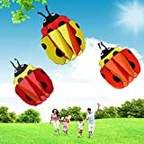 Ladybug Single Line Stunt 140cm Easy To Fly Flying Kites Kids Outdoor Toy Kite Parachute Animal