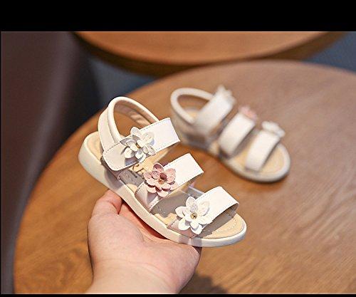 Sommer Baby Mädchen Schuhe Drei Blumen Wohnungen Sandalen für ...