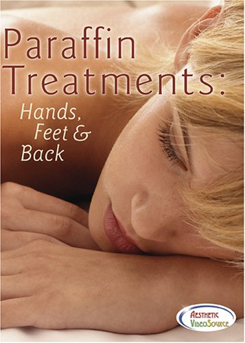 Paraffin Treatments: Hands, Feet & Back DVD. Cosmetology & Spa Training Video by Rita Page, Esthetician. Learn About Cleansing, Exfoliation, Hand and Foot Massage, Paraffin Wax Bath Machines, and Application by Dipping or with a Brush. (2 Hrs. 15 Mins.)