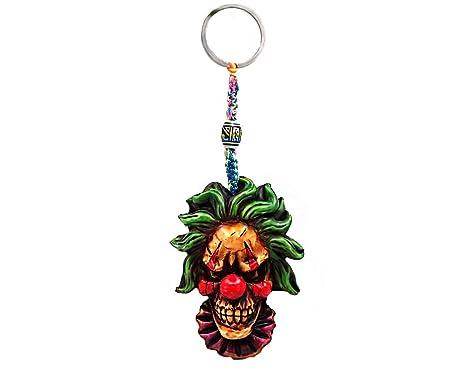 Amazon.com: Llavero con diseño de flores de Halloween ...