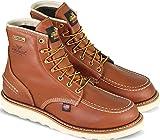 Thorogood 814-4600 Men's 6'' Moc Toe, MAXwear Wedge Waterproof Non-Safety Toe, Tobacco - 11 2E US