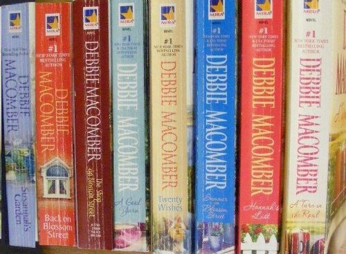 Blossom Street Series 1-8 (8 Book Set) :The Shop on Blossom Street, a Good Yarn, Susannah's Garden, Back on Blossom Street, Twenty Wishes, Summer on Blossom Street, Hannah's List, a Turn in the Road