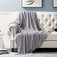 Bedsure Acrylic Knit Throw