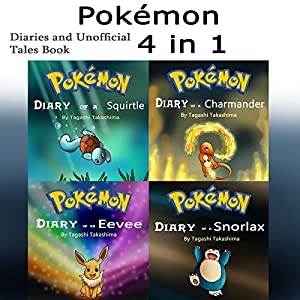 Pokemon: Diaries and Unofficial Tales 4-in-1 Book Audiobook