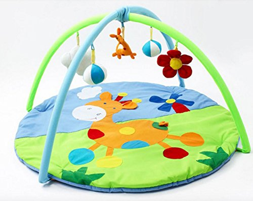 Giraffe Educational Toys Baby Play Mat Infant Blanket Gym Baby Educational Pads 3D Activity Play Mat Gym