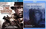 The Revenant Blu Ray & Lone Survivor True Story Courage Movie Bundle Set