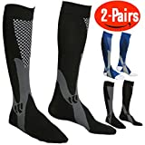 Compression Socks for Men & Women,(Pair Of 2) By
