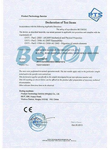 Amazon.com  Beron Eco-Friendly Laundry Ball for 1500 Washings  Health    Personal Care fff29587b1