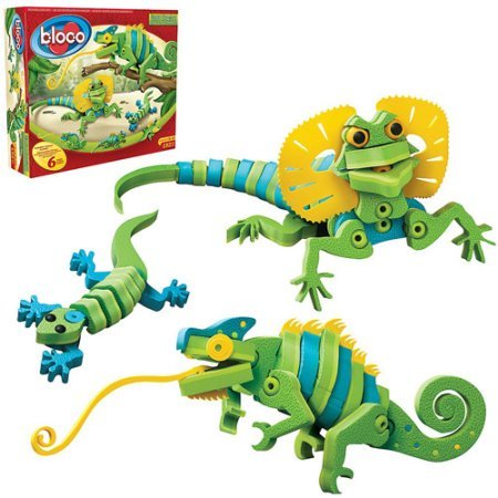 Bloco Lizards and Chameleons Building Set - Bloco Lizards