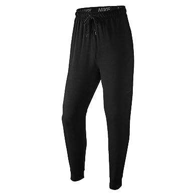 NIKE Men's Dri-Fit Training Fleece Pants Black/Black 2XL X 33.5