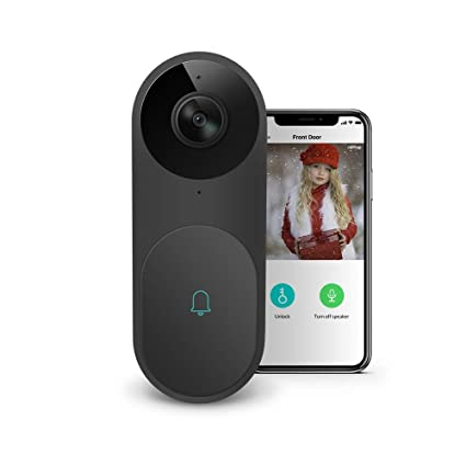 Netvue Belle A I  WiFi HD Video Doorbell with Facial