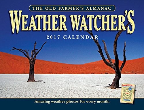 The Old Farmers Almanac 2017 Weather Watchers Calendar