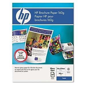 Amazon Com Hp Color Laser Glossy Brochure Paper 97