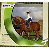 Schleich World of Nature Farm Life - 41393 - Western Cowboy and Horse Figure Set