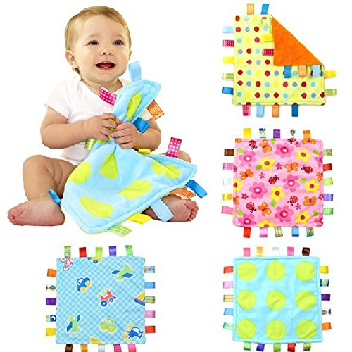 Taggies Colors Plush Blankie, Cars-Discontinued by Manufacturer