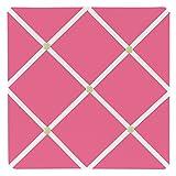 Sweet Jojo Designs Pink and Green Flower Fabric Memory/Memo Photo Bulletin Board
