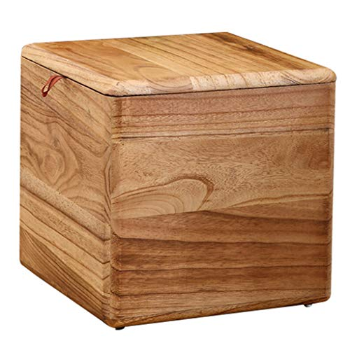 Stool Multifunction Storage Stool Solid Wood Sundries Storag