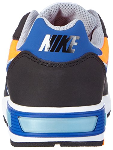 Nike Nightgazer, Men's Sneakers Multi (Multicolore (Mehrfarbig (Wlf Grey/Gm Ryl-ttl Orng-white 005)))