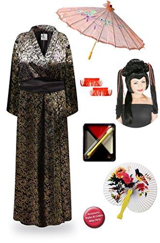 Paisl (Plus Size Geisha Halloween Costumes)