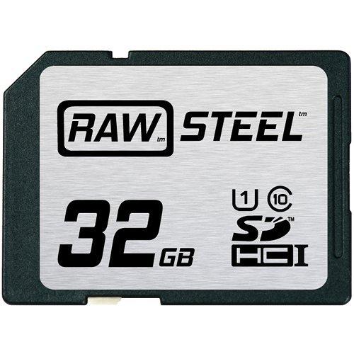 Hoodman RAW Steel SDHC 32GB UHS-1 Secure Digital Card
