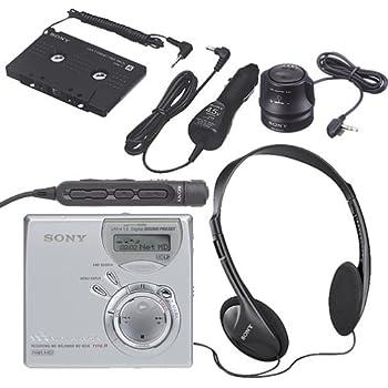 amazon com sony mz rh10 hi md walkman digital music player recorder