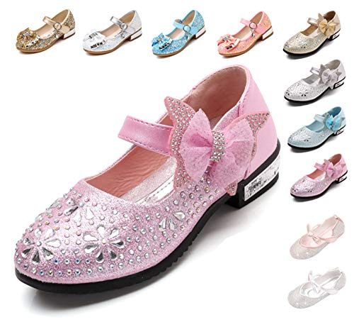 Kikiz Little Girl's Princess Dress Shoes Kids Mary Jane 11 M US Little Kid