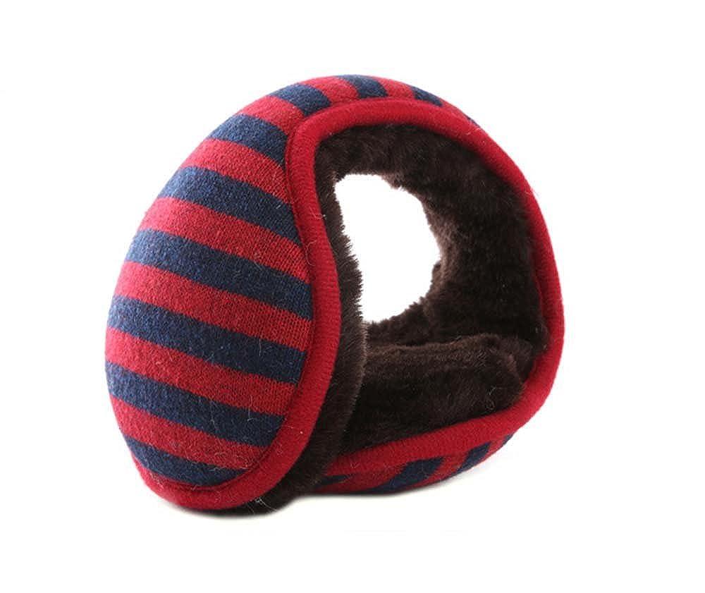 Unisex Fold-able EarMuffs Winter Outdoor Adjustable Soft Plush Winter Earmuffs Feeltime EM-grey