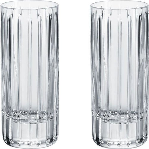 Baccarat Crystal Harmonie Happy Hour Set of 2 XL Shot Glasses by Baccarat Crystal