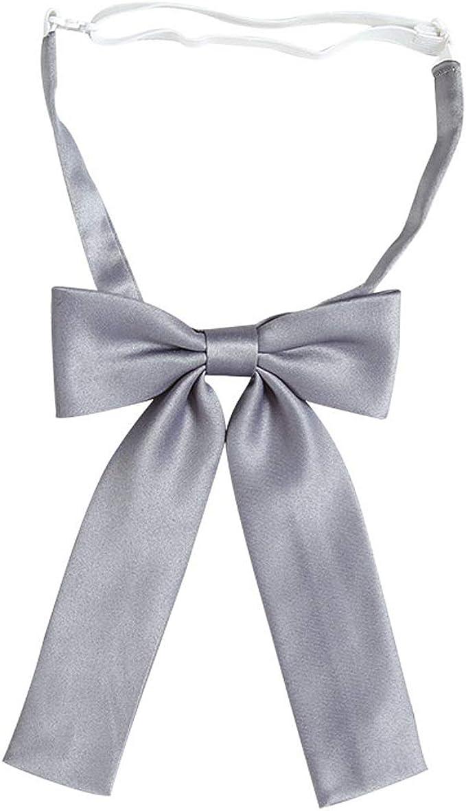 SYAYA - Corbata de lazo ajustable para mujer y niña, color sólido ...