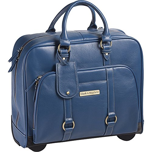 clark-mayfield-hawthorne-leather-rolling-173-laptop-bag-computer-bag-in-blue