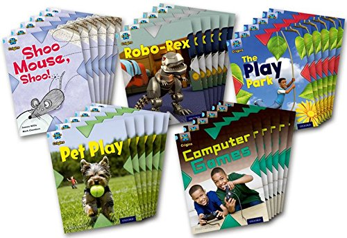 Project X Origins: Light Blue Book Band, Oxford Level 4: Toys and Games: Class Pack of 30 PDF