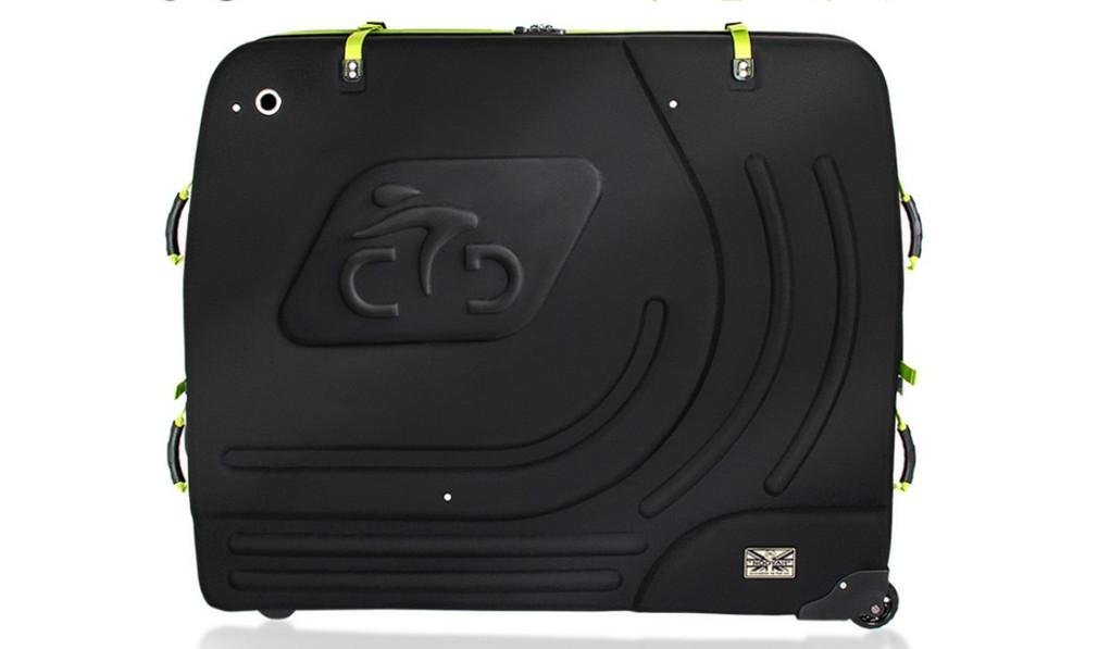 Nola Sang Hardware EVA Bike Travel Luggage Case Luxurious Hard Box 29'' Inch Wheel Transport Bag