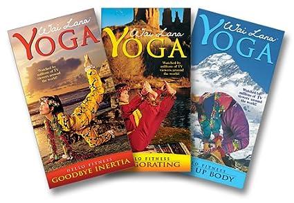 Amazon.com: Hello Fitness Series: Wai Lana Yoga (3pc ...