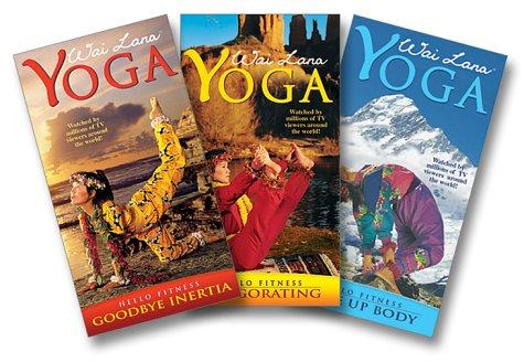 Hello Fitness Series: Wai Lana Yoga (3pc) (Goodbye Inertia; Invigorating; Wake Up Body) [VHS]