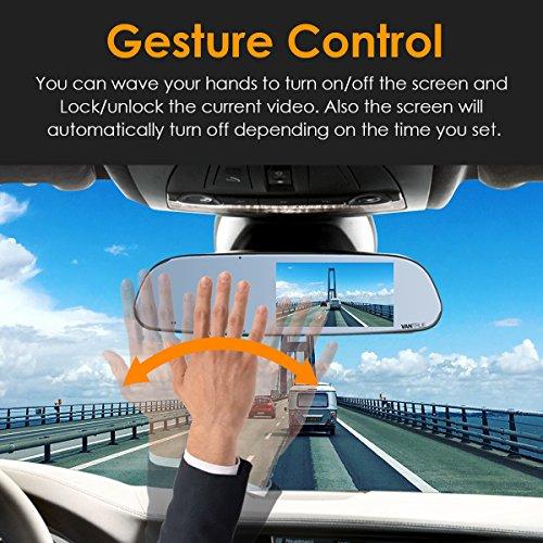 Vantrue N3 Dash Cam Backup Camera And 5 Ips Touch Screen