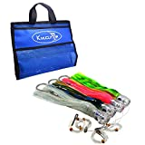 kmucutie Trolling Lure Octopus Skirted Offshore Game Fishing Lures Marlin Tuna Wahoo Dolphin 11inch 4pcs