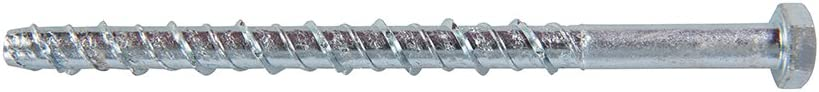 Plata M8/x 130/mm FIXMAN 522323/hormig/ón tornillos de mamposter/ía 10pk